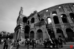 The Colosseum II by m-ajinah