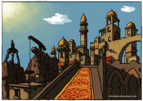 Sinbad - City of Serendib by mhofever