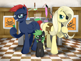 :com: A different kind of family by Evomanaphy