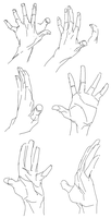 hand study by jiji-sam