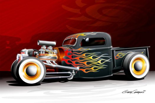 Primer and Flames by GaryCampesi