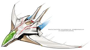 Lightweight jet fighter by Mecha-Zone