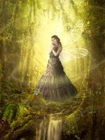 Lady Of The Forest by LuthiensLight