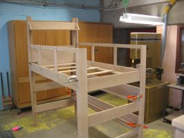Loft bed dry fit by ninjakitty94