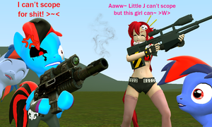 Sniping Lessons with Yoko by JackieNam