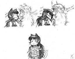 Faunus Shaming by ShisaKomainu