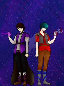 (Remade) The Last Two Mages!!! by psychocupcakes