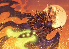 WOW Blood Elf by Jonboy007007