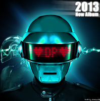 Daft Punk New Album Cover Concept by ebalint96