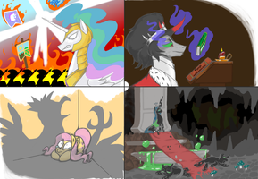 Coloured Sketches by HardwayBet