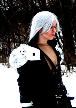 Sephiroth: Wintry Eyes by SorceressCassandra
