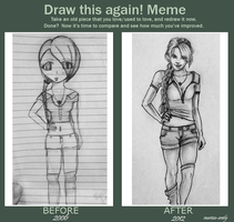Draw This Again Meme by Marissa-Emily