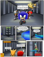 Sonic the Hedgehog Z #4 Pg. 13 October 2013 by CCI545