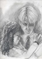 Draco and Margaret again by AmberPalette