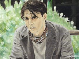 Johnny Depp - J.M. Barrie by shaman-art