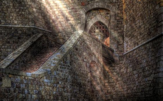 Sunbeam Castle by stock-pics-textures