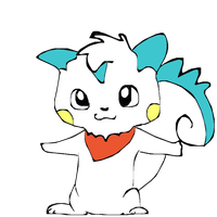 Pokesona: The Pachirisu Me by derpato