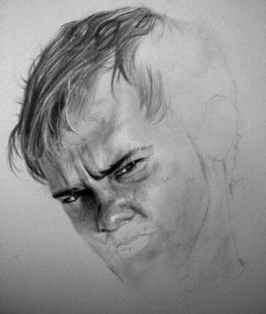 Charlie Pace WIP I by GhostsintheMachine