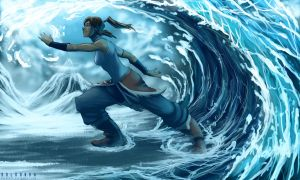 Korra Water Impulse by SolKorra