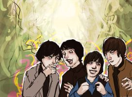 Beatles: Help intermission by lorainesammy