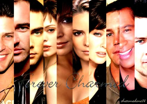 Charmed Cast by charmedone14