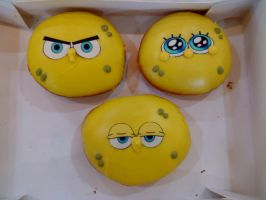 Spongebob donuts by bLacKhevN