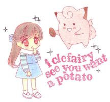 A Potato from a Pokemon by starlightgenie
