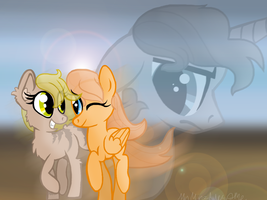 Reguest Gigi LF and Cy by MyMineAwesome