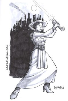 Jedi Poppins by stratosmacca