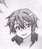 Kirito has a Killer Smile by Jasian1