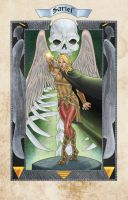 Sariel Stained Glass by thecreatorhd
