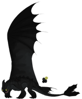 Night fury adoptable #1 -CLOSED- by GoldenNove