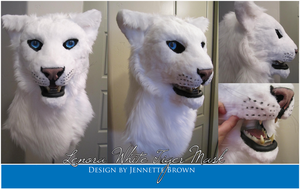 Lenora Tiger Mask by sugarpoultry