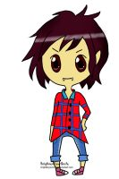 Marshall Lee Chibi Commission for InvaderKimmy by bunnydesuuu