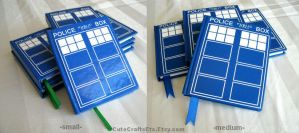 Tardis Books - Dr Who by MyFebronia