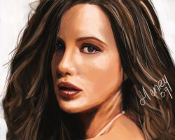 Kate beckinsale by Hasuf3ll