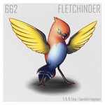 662 - Fletchinder by SanctifiedVengeance