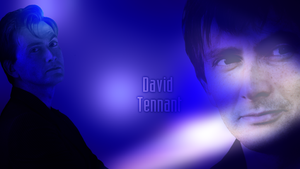 David Tennant widescreen wallpaper by Leda74