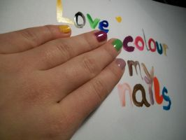 love colour my nails by crazzyKatie