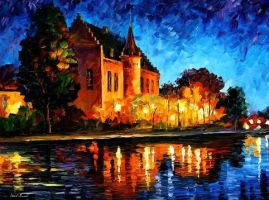 CASTLE by Leonidafremov
