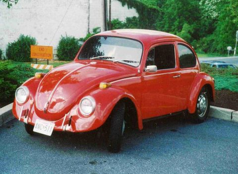 My Past Rides-the Beetle by V-W-M