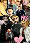 Gerard Way collage by xGagaWay