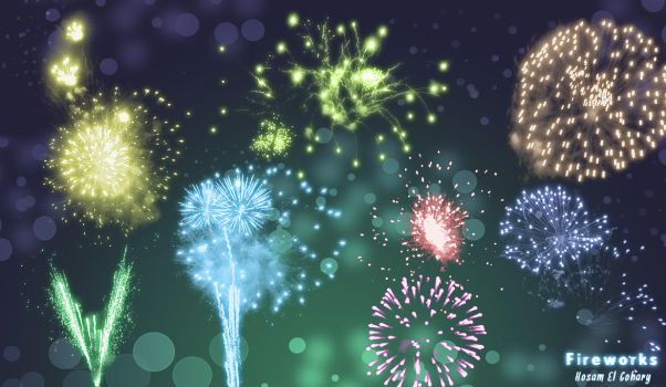 Fireworks by Word-Master