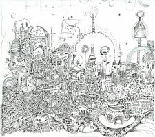 Tangle Town by SittingBuddha