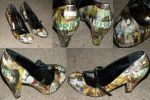 Pride and Prejudice Shoes by InkyRose