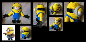 Minion by Dracocrochet