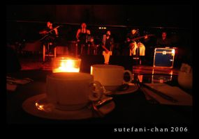 Music Over a Cup of Coffee by Sutefani-chan
