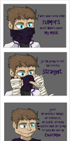 Under Rythian's mask... by Treestar14
