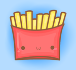 French Fries by cuddledcrayons