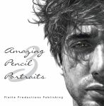 My drawing published in Amazing Pencil Portraits 3 by Rick-Kills-Pencils